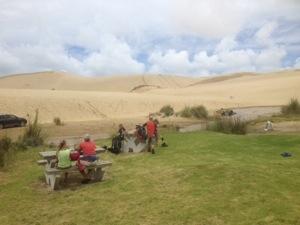 Day 3; Te Paki Stream Mouth – Waitiki Landing Campsite