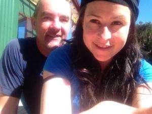 My fiancé Neil and I.
